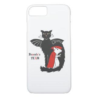 子猫およびマウスの吸血鬼 iPhone 8/7ケース