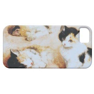 子猫が目を覚ます2 iPhone 5 COVER