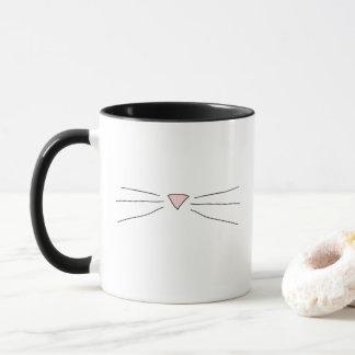 子猫のひげのマグ マグカップ