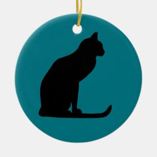 子猫のクリスマス セラミックオーナメント