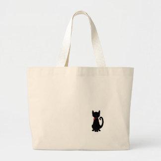 子猫のトートバック ラージトートバッグ