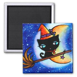 子猫のボビンは銀河猫の磁石に乗ります マグネット