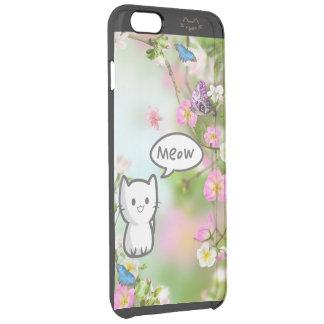 子猫の庭 クリア iPhone 6 PLUSケース