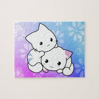 子猫の抱擁 ジグソーパズル