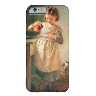 子猫の朝食 BARELY THERE iPhone 6 ケース