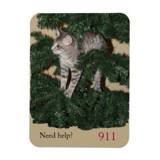 子猫の緊急時番号のメモの磁石 マグネット