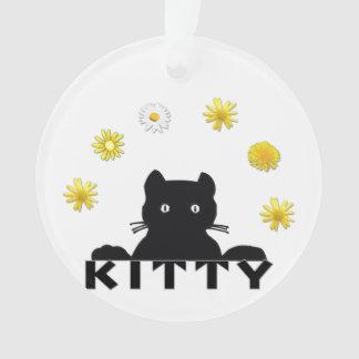 子猫の花 オーナメント