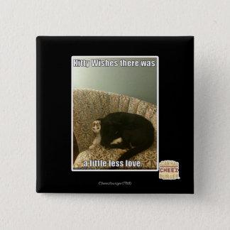子猫の願い 5.1CM 正方形バッジ