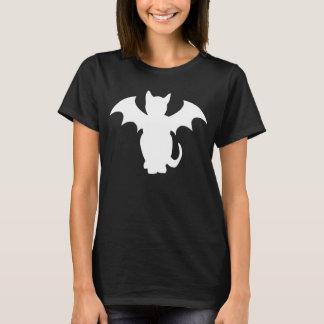 子猫のLectroのゴシック様式こうもり猫 Tシャツ