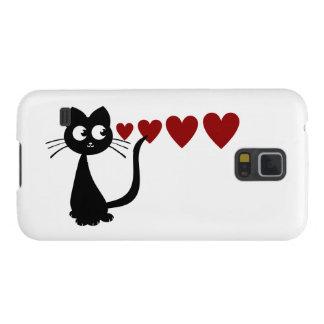 子猫は愛Iを見ます GALAXY S5 ケース