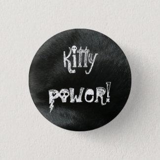 子猫力! ボタン 3.2CM 丸型バッジ