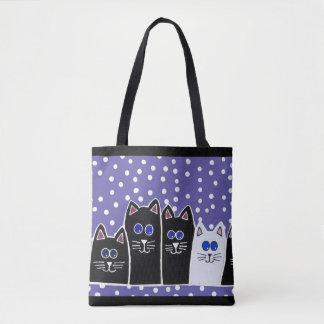 子猫家族のバッグ トートバッグ