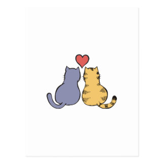 子猫愛 ポストカード