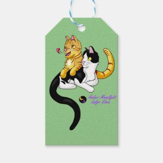 子猫愛wロゴ ギフトタグ