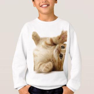 子猫猫のかわいい項目 スウェットシャツ