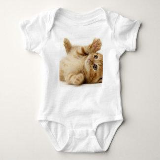 子猫猫のかわいい項目 ベビーボディスーツ