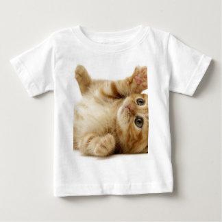子猫猫のかわいい項目 ベビーTシャツ