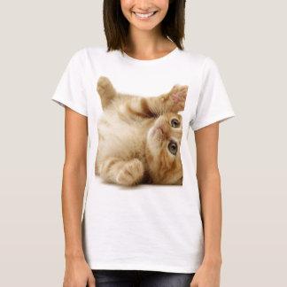 子猫猫のかわいい項目 Tシャツ