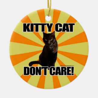 子猫猫は気になりません セラミックオーナメント
