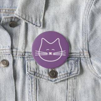 子猫猫ボタン 7.6CM 丸型バッジ