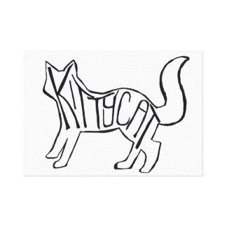子猫猫 キャンバスプリント