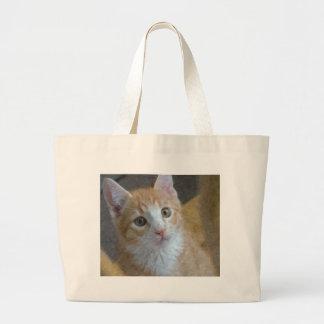 子猫猫 ラージトートバッグ