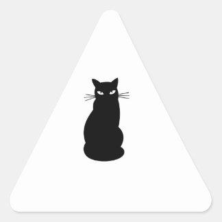 子猫猫 三角形シール