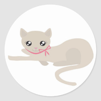 子猫 ラウンドシール