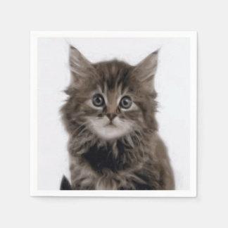 子猫CAT スタンダードカクテルナプキン