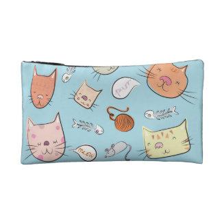 子猫Kat コスメティックバッグ