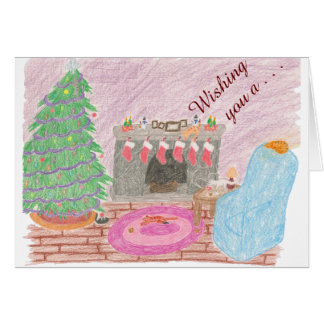 子猫mas害(クリスマス) カード