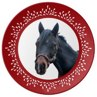 子馬の涙の休日のプレート 磁器プレート