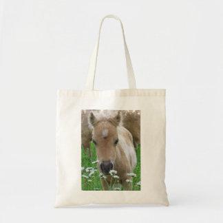子馬の臭いがするデイジーのトートバック トートバッグ