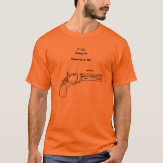 子馬リボルバー芸術 Tシャツ