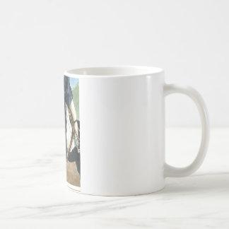 子馬力! Showjumpingの子馬 コーヒーマグカップ