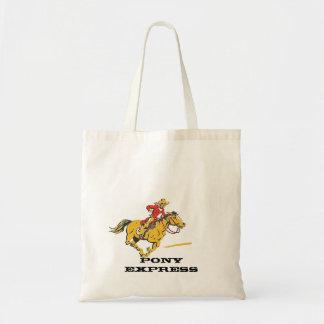 子馬明白な流行郵便トート袋バッグ トートバッグ