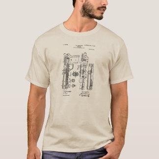 子馬45の芸術のワイシャツを茶色にすること Tシャツ