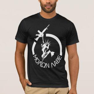 子馬M4A2 - MOLON LABE Tシャツ