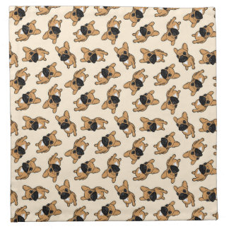 子鹿のFrenchieの子犬 ナプキンクロス