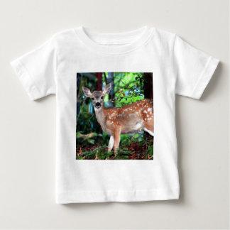 子鹿 ベビーTシャツ