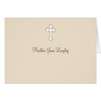 子鹿-名前入りな宗教はNotecard感謝していしています カード