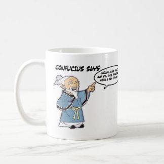 孔子のマグ コーヒーマグカップ