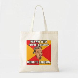 孔子はバンコクへの行を言います トートバッグ
