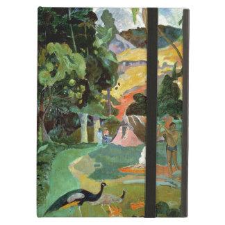 孔雀とのMatamoeか、景色、1892年 iPad Airケース