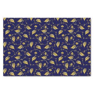 孔雀のサリーパターン 薄葉紙