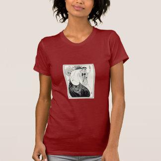 孔雀のスカート Tシャツ