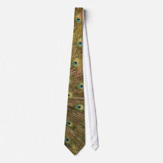 孔雀のタイ オリジナルネクタイ