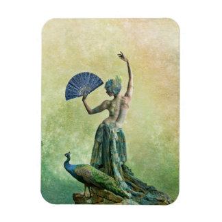 孔雀のダンサーの磁石 マグネット