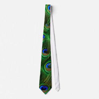 孔雀のネクタイ オリジナルネクタイ