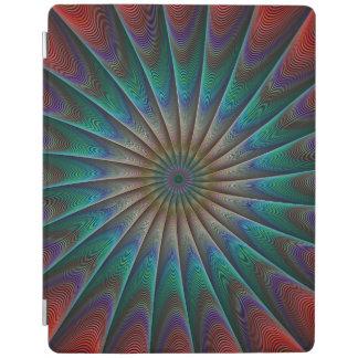 孔雀のフラクタル iPadスマートカバー